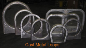 Cast Metal Loops